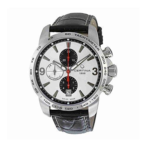 Certina - Wristwatch, Chronograph automatico, Leather, Men