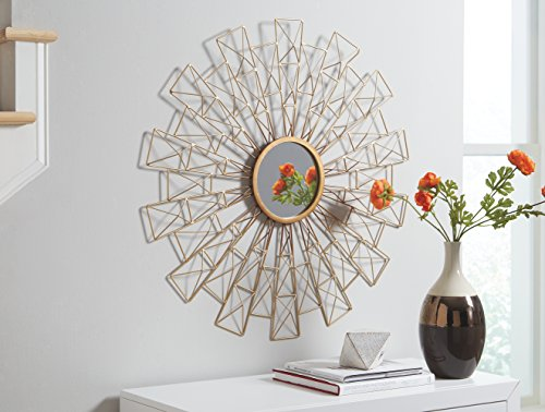 Signature Design by Ashley Emberlei Accent Mirror, Gold