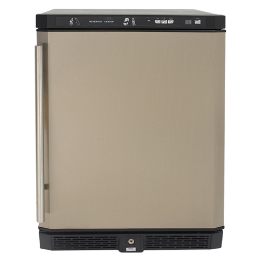 "Avanti AR5102SS All Refrigerator, 24""/5.1 cu. ft, Stainless Steel"