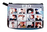 EXO Boy Band Kpop Cosmetic Bag – Pencil Case #007, Bags Central
