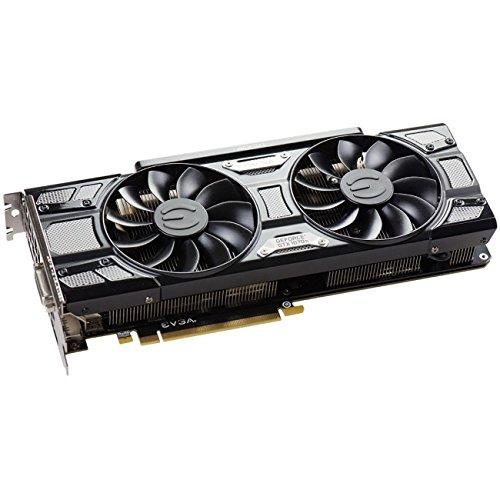 EVGA GeForce GTX 1070 Ti SC GAMING ACX 3.0 Black Edition, 8GB GDDR5, EVGA OCX Scanner OC, White LED, DX12OSD Support (PXOC) Graphics Card 08G-P4-5671-KR by EVGA
