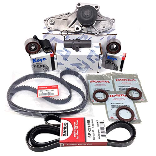 - TIMING BELT KIT (As in photo) GENUINE/OEM Fits select Honda, Acura vehicles.