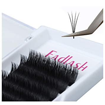 298d98253c4 Volume Lash Extensions D Curl 8~20mm Easy Fan Lashes 0.07mm Mega Automatic  Rapid