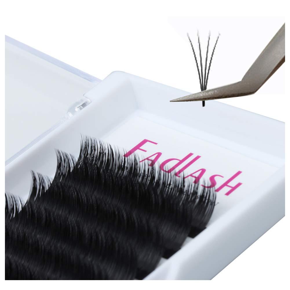 771d9f26e53 Amazon.com : Volume Lash Extensions D Curl 8~20mm Easy Fan Lashes 0.07mm  Mega Automatic Rapid Blooming Eyelash Extensions Supplies by FADLASH(0.07mm-D  curl ...
