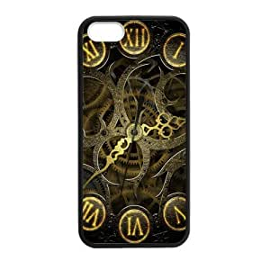 Morimo Custom Protective Phone Case for iPhone 5/5s,Gear?Steampunk?Design?Gears?Old?Machine Laster Technology TPU Cover