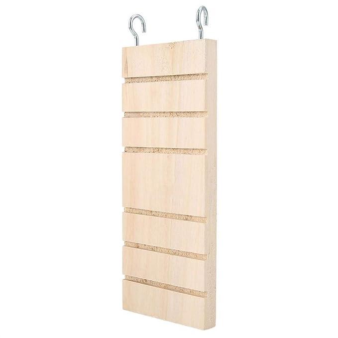 Mascota Escalera de madera Hamster Bird Stand Plataforma de ...