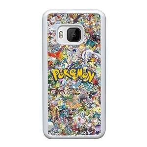 Pokemon Z4F8Ui HTC uno M9 Funda caja del teléfono celular blanco S4I9BP fundas Caja del teléfono de protección genéricos