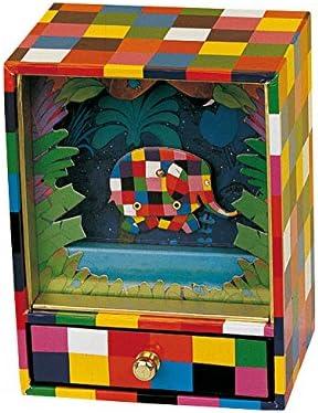 Trousselier - Caja de música Petit Dancing Musical Elmer (S93064): Amazon.es: Juguetes y juegos