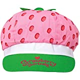"Amscan Pretty Strawberry Shortcake Birthday Party Deluxe Fabric Hat Wearable Accessory Favor (1 Piece), 5 1/2"" x 10"", Multicolor"