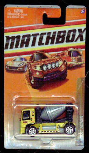 Matchbox 2009-68 OF 100 GOLD Construction MBX Mixer 1:64 Scale