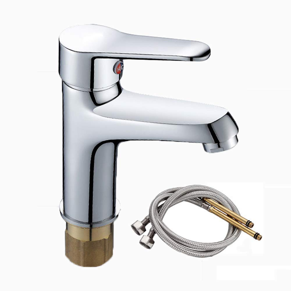 B redating hot and cold single hole faucet-bathroom fixture-bath faucet, all copper basin basin wash basin bathroom wash basin faucet