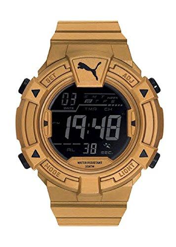 Puma Collide Men Gold Plastic watch-PU911381005