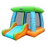 Sportspower My First Jump N' Play Inflatable Bouncer, Slide & Basketball Hoop - INF-2075-17