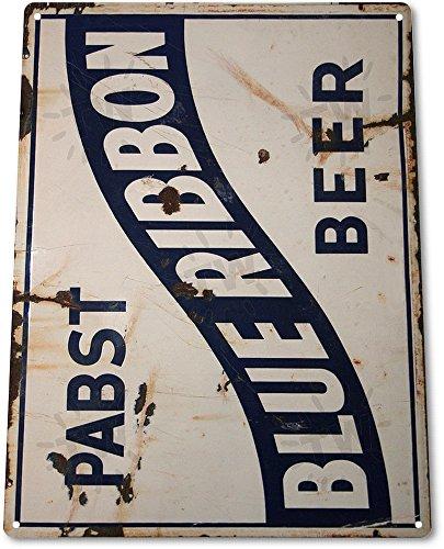 """TIN SIGN """"Pabst Blue Ribbon Beer"""