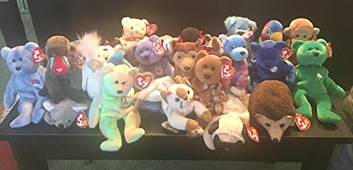 Lot of 50 Ty Original Beanie Baby Collection With Tags - Original Beanie Babies