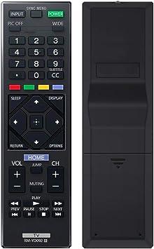 AZMKIMI - Mando a distancia de repuesto para televisor Sony RM-YD092 Smart TV para todos los televisores LCD LED y Bravia (1-492-065-11): Amazon.es: Electrónica