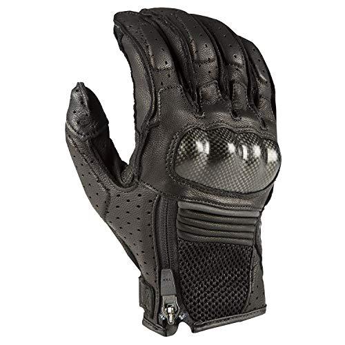 (Klim Induction Men's Street Motorcycle Gloves - Black/X-Large)