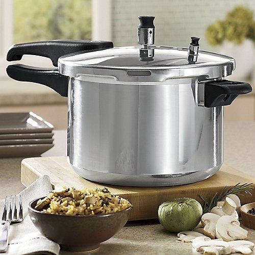 Casa essentials aluminum pressure cooker 5 quart   ebay.