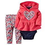 ARAUS Baby Long Sleeve Hoodie + Bodysuit + Pants Trousers Newborn Girl Boy Autumn Winter Clothes Outfits 0-24 Months