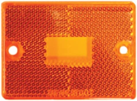Blazer B423A Amber Rectangular Side Marker with Reflex Pack of 1 Blazer International Trailer /& Towing Accessories