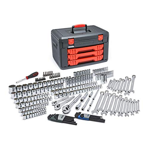 KD Tools KDT 80942 239-Piece SAE/Metric Socket and Ratchet Set from GearWrench