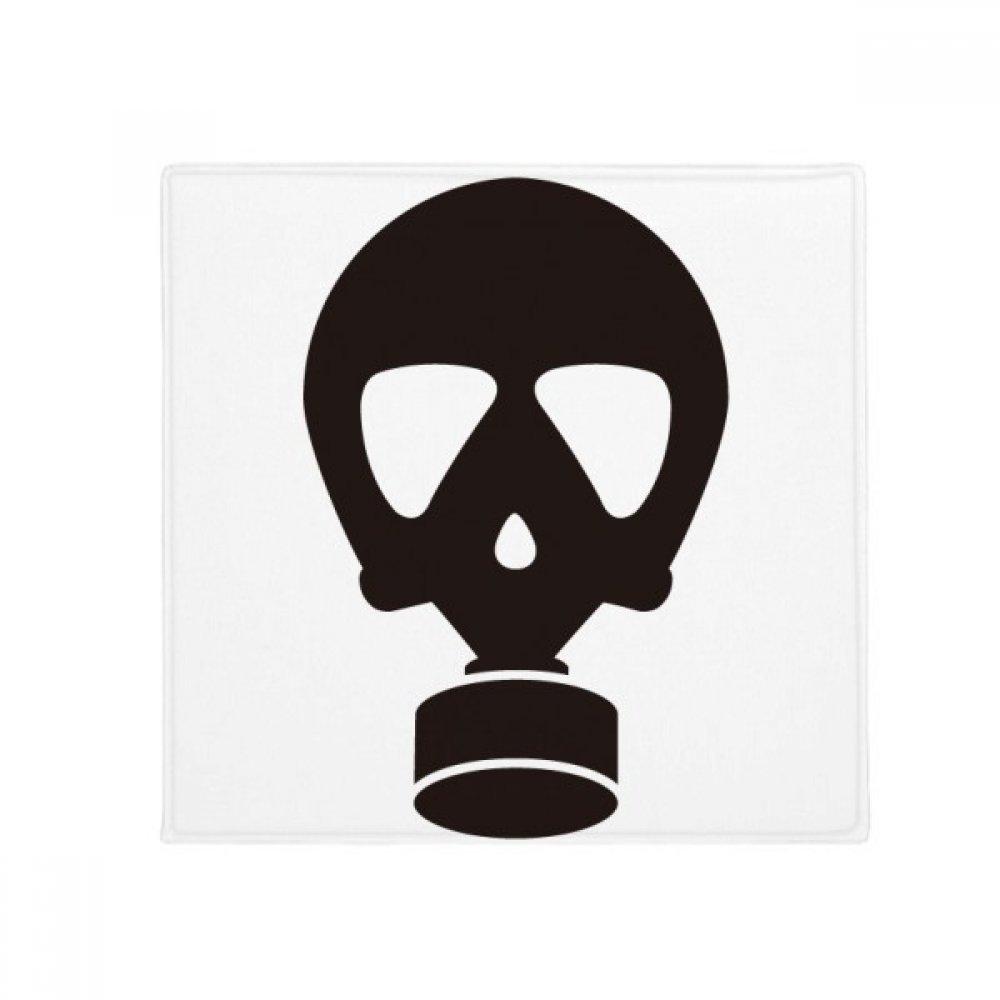 DIYthinker Human Skeleton Pollution Gas Mask Pattern Anti-Slip Floor Pet Mat Square Home Kitchen Door 80Cm Gift