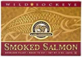 Alaska Smokehouse 8 oz Smoked Sockeye Salmon Gift Box