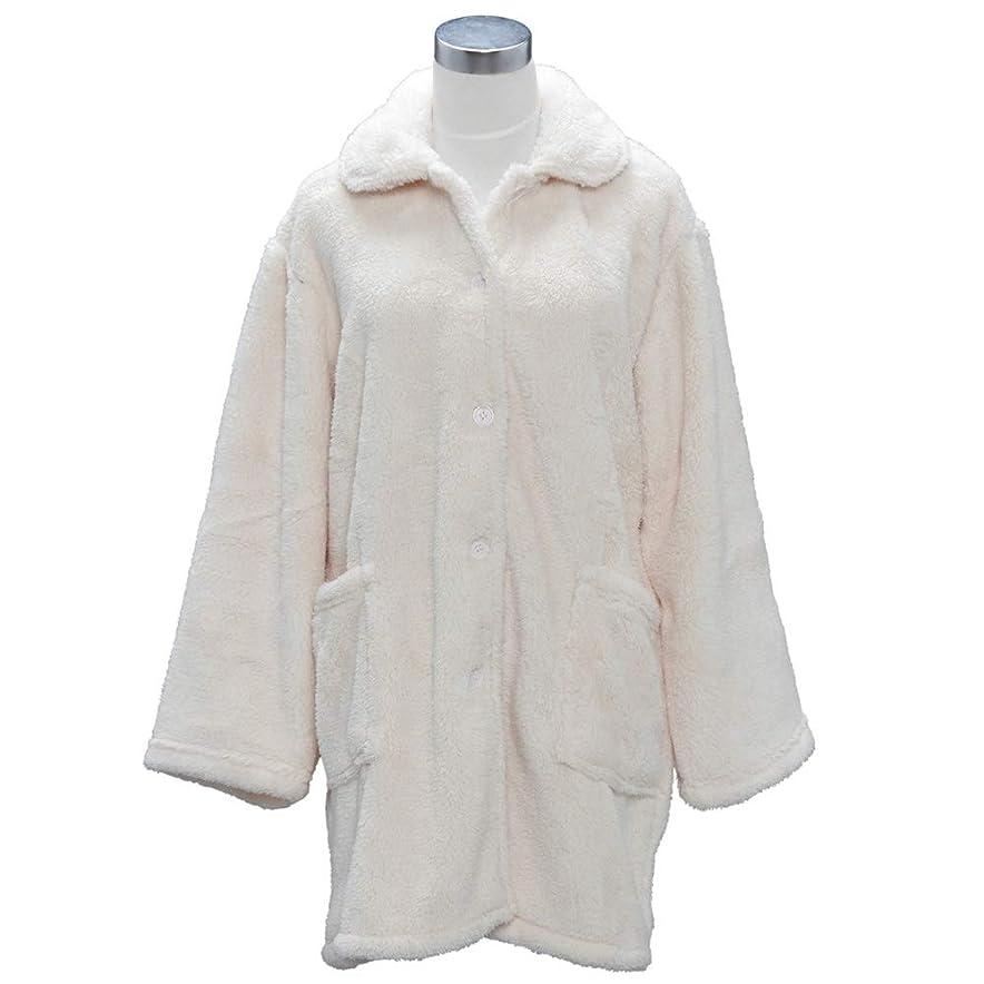 日常的に援助ソーシャルグルーニー Groony 2018ver 着る毛布 ルームジャケット マイクロファイバー 静電気防止 ポケット付 ネイビー 男女兼用 フリーサイズ 着丈95㎝