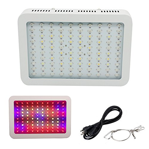 GR 1000W LED Grow Lights Double Chips Full Spectrum with UV IR Plant Growing Lights for Indoor Hydroponic Plants Greenhouse by GR
