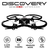 UDI U818A HD+ Drone with Camera and Headless Mode