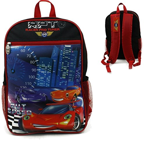 """Price comparison product image 15"""" WHOLESALE RACER PRO TUNER BACKPACK - CASE OF 24 - 42-50748"""