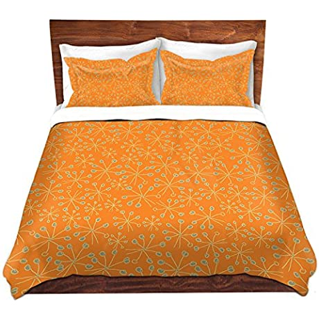 DiaNoche Designs Microfiber Duvet Covers Sue Brown Dandiflying 2