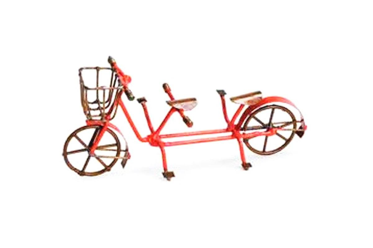 My Garden Miniatures Bicycle Built For Two Mini Dollhouse FAIRY GARDEN Accessories