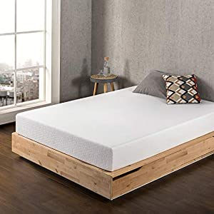 Best Price Mattress 10 Inch Memory Foam Mattress, Calming Green Tea Infusion, Pressure Relieving, Bed-in-a-Box, CertiPUR…