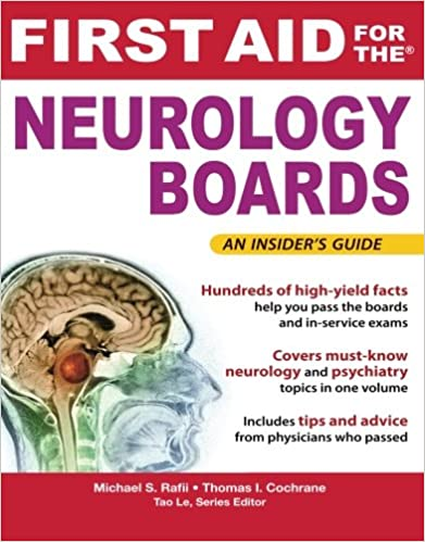 Kết quả hình ảnh cho First Aid for the Neurology Boards