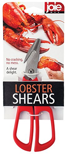 Joie Lobster Crab Seafood Shears, Stainless Steel Blades, 7.5-Inches x 2.75-Inches by MSC International