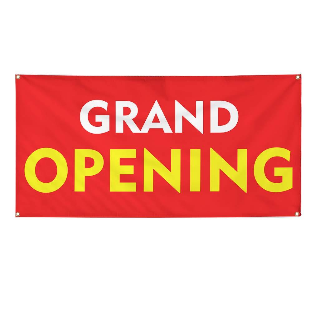 Multiple Sizes Available Set of 3 Vinyl Banner Sign Grand Opening ...