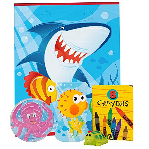 ocean shark party favor - 9