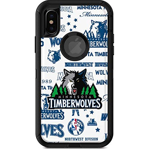 Amazon Com Skinit Nba Minn Timberwolves Otterbox Defender Iphone