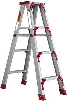 Escalera de Mano Taburete Plegable Espesamiento de la Escalera de Aluminio ensanchada Escalera Plegable for el hogar Escalera de Aluminio Gruesa Escalera Banco Escalera Interior Escaleras Paso a Paso: Amazon.es: Electrónica