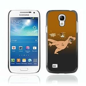 CQ Tech Phone Accessory: Carcasa Trasera Rigida Aluminio PARA Samsung Galaxy S4 Mini i9190 - Kung Fu T-Rex & Jesus