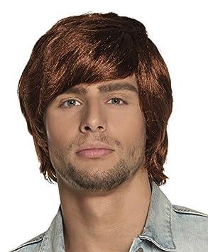 Colour de la peluca de la peluca para hombre de disfraces de carnaval