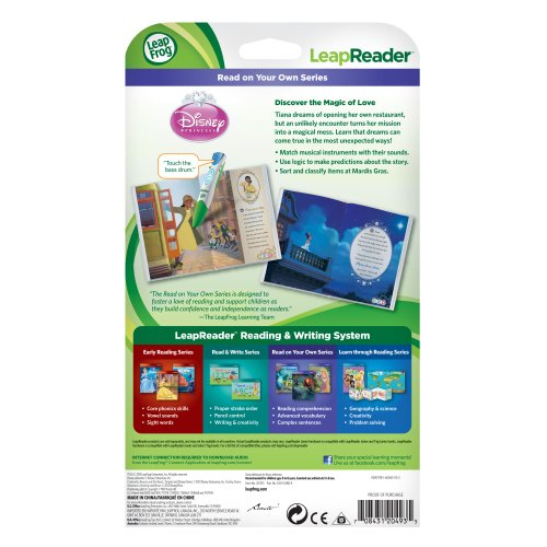 LeapFrog LeapReader Book: Disney Princess and the Frog (works with Tag) by LeapFrog (Image #4)