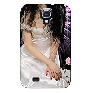 TPU Angel Fantasy Silver For Sumsang Galaxy S4 Angel Case Cover