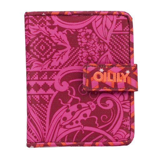 Oilily Graphic Land S Flap Wallet Red