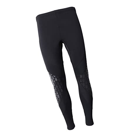 8c62397753 Baosity UV Protection Wetsuits Pants 1.5mm Super Stretch Neoprene Winter  Worm Pants Snorkeling Scuba Surf