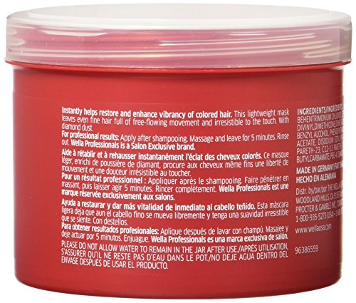 Wella Brilliance Treatment For Fine To Normal Colored Hair 169 Ounce