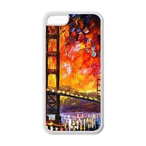 Custom Golden Gate Bridge Design TPU Case Protector For Iphone 5C