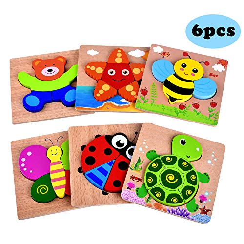 Yostyle Wooden Puzzles Toddlers Educational product image