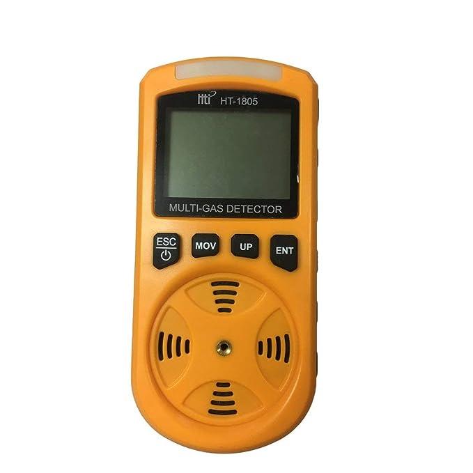 Yogasada TY-16 4 in 1 O2 H2S CO LEL Gas Detector Gas Analyzer Gas Leak Detector: Amazon.es: Hogar